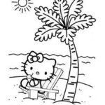 Disney Coloring Pages Hello Kitty