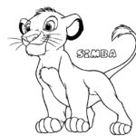 Free Disney Coloring Pages Lion King