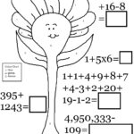 Number Coloring Activity