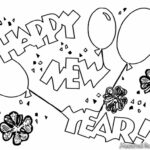 Chinese New Year 2021 Printable Coloring Pages