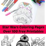 Printable Star Wars Coloring Pages For Adults