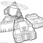 Transformers Rescue Bots Printable Coloring Pages