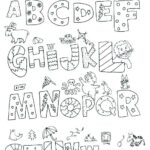 English Alphabet Letters Coloring Pages