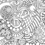 Colouring Sheets For Young Adults