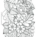 Fall Leaves Coloring Pages Printable