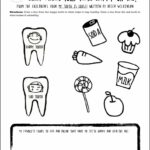 Dental Coloring Pages Activities