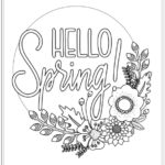 Free Printable Coloring Pages For Spring And Summer