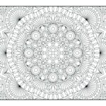 Printable Coloring Pages Geometric Patterns