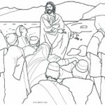 Free Printable Coloring Pictures Of Jesus