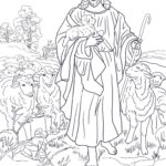 Jesus Coloring Pages Printable Free