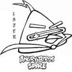 Printable Coloring Pages Angry Birds Space