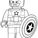 Printable Coloring Pages Lego Avengers