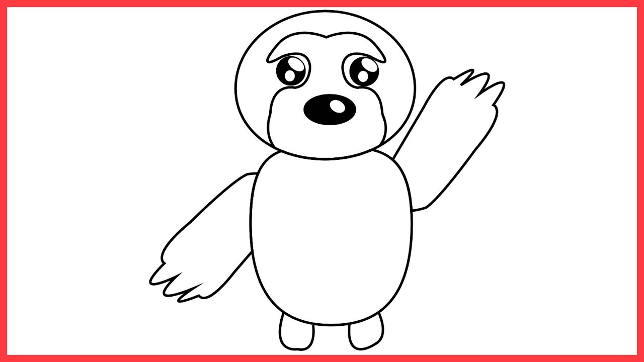 e learning for kindergarten: Adopt Me Pet Coloring Sheets ...