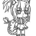 Free Coloring Pages Gacha Life