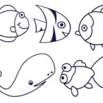 Coloring Pages For Ocean Animals