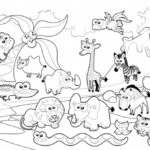 Zoo Coloring Pages For Toddler