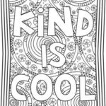 Kindness Coloring Pages Printable