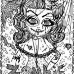 Coloring Pages Zombies Disney