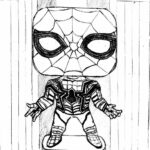 Iron Spider Spider Man Homecoming Coloring Pages