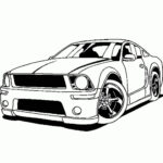 Coloring Pages For Sports Cars