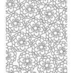 Spring Flowers Coloring Pages For Adults