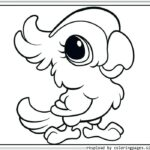 Free Printable Cute Baby Animal Coloring Pages