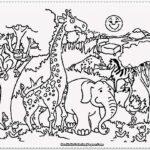 Free Coloring Pages Zoo Animals