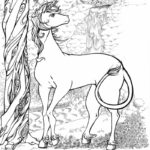 Unicorn Coloring Pages Detailed