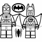 Spiderman And Batman Printable Coloring Pages