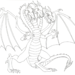 Coloring Pages Of Dragons 3