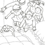 We're Going On A Bear Hunt Printable Coloring Pages