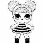 Lol Coloring Pages Queen Bee