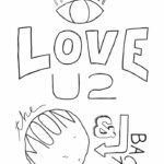 Coloring Pages I Love You To The Moon And Back