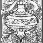 Holiday Coloring Pages For Adults Printable