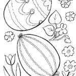 Coloring Easter Eggs Pages