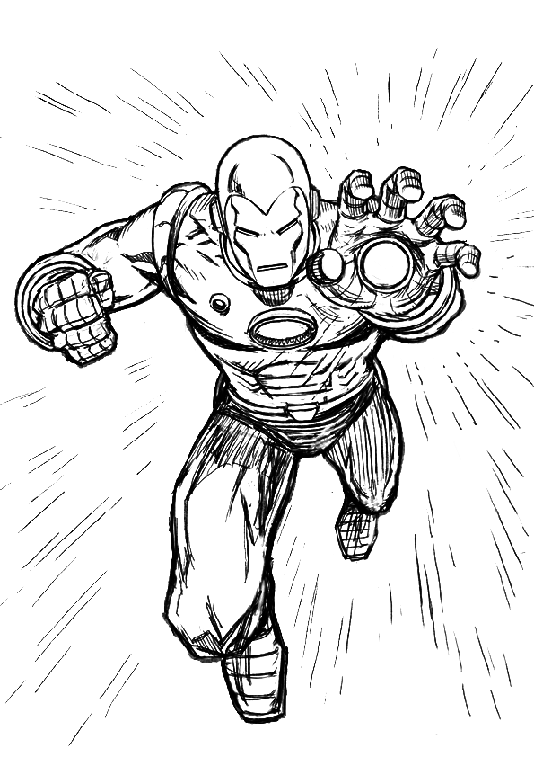 Iron Man Coloring Pages ~ Free Printable Coloring Pages ...