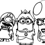 Minion Coloring Pages To Print For Free