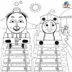 Thomas The Tank Engine Coloring Pages Printable