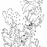 Dot To Dot Coloring Pages For Adults