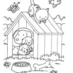 Printable Coloring Pages Cats And Dogs