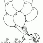 Free Printable Coloring Pages Balloons