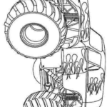 Hot Wheels Car Printable Coloring Pages