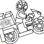 Lego Spiderman Printable Coloring Pages