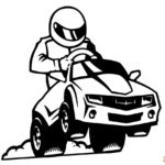 Coloring Pages Printable Race Cars