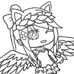 Coloring Pages Gacha Life