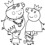 Coloring Pages Peppa Pig Halloween
