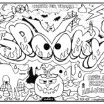 Street Art Graffiti Coloring Pages