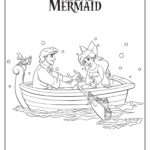 Ariel And Eric Printable Coloring Pages