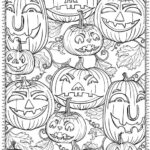 Free Printable Coloring Pages Of Halloween