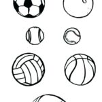 Free Printable Coloring Pages Sports Balls